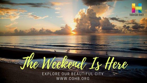 What's happening this weeken in Hallandale beach