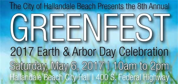 Green Fest 2017 - Earth Day and Arbor Day Celebration - May 6, 10am-2pm City Hall