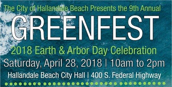 2018 Green Fest, April 28, 10am-2pm, City Hall