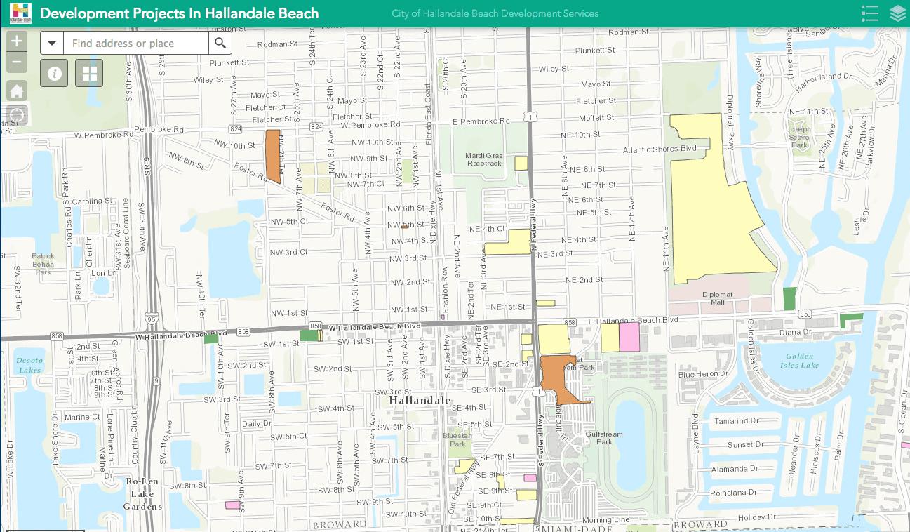 GISmap-Hallandale